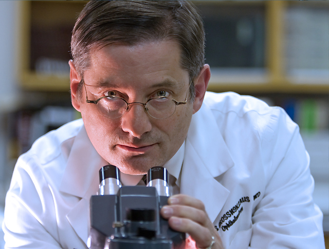 Hans Grossniklaus, MD, MBA in Montgomery Lab