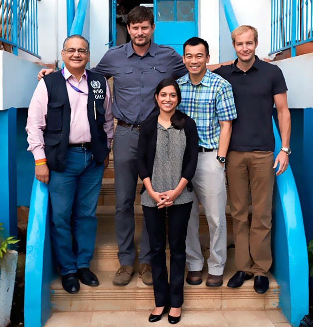 Team photo Quiet Eye project