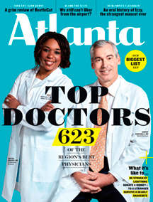 Cover Atlanta Magazine July 2017